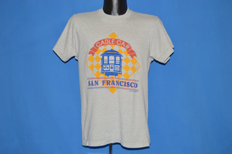 80s San Francisco Cable Car Tourist t-shirt Medium