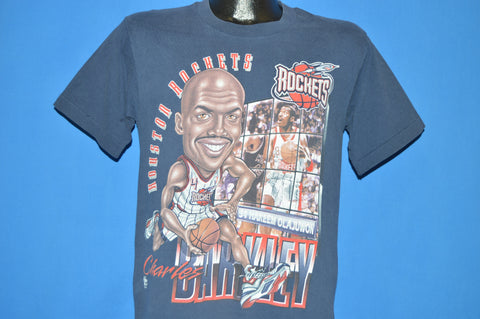 90s Huston Rockets Charles Barkley #34 Caricature t-shirt Youth Large