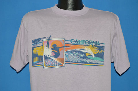 80s California Surf t-shirt Large