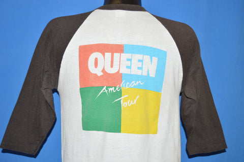 80s Queen American Tour 1982 Rock Jersey t-shirt Medium