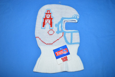 80s Houston Oilers Helmet Ski Mask Winter Hat Kids Size
