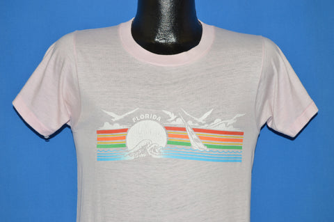 80s Florida Sailboat Tourist t-shirt Small