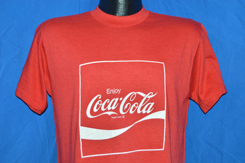 70s Enjoy Coca Cola t-shirt Medium