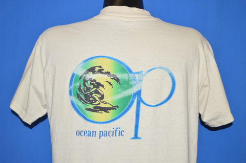 80s Ocean Pacific Wave Logo Surf t-shirt Large