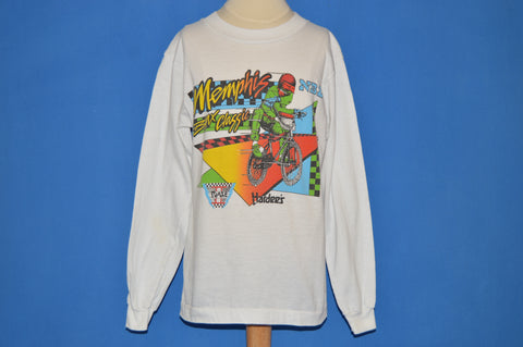 80s Memphis BMX Classic Long Sleeve t-shirt Youth Large