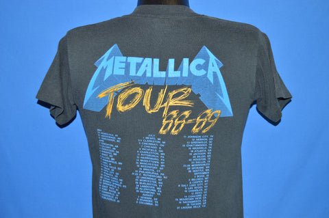 80s Metallica And Justice For All 1988 t-shirt Small