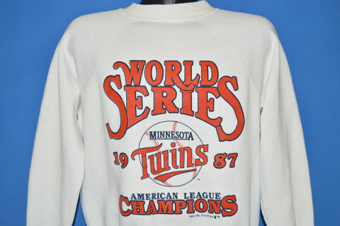 80s Minnesota Twins 1987 World Series Sweatshirt Large