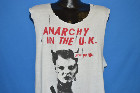 80s Sex Pistols Anarchy In the UK t-shirt Extra Large