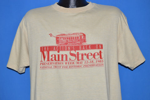 80s National Trust Historical Preservation t-shirt Extra Large