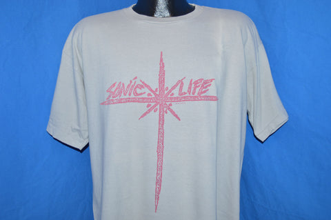 80s Sonic Youth Sonic Life t-shirt Extra Large