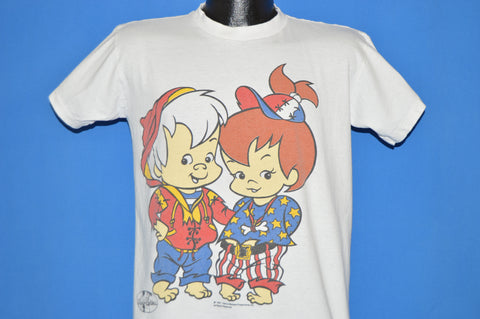 90s Flintstones Pebbles and Bam Bam t-shirt Youth Extra Large