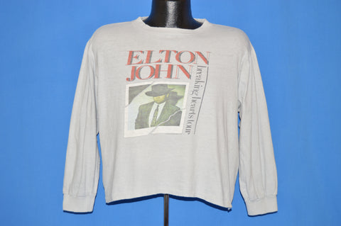 80s Elton John Breaking Hearts Tour t-shirt Large