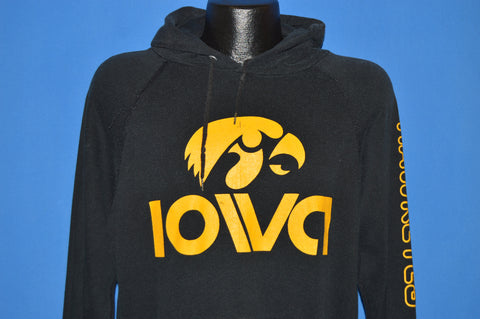 80s Iowa Hawkeyes College Pullover Sweater Large