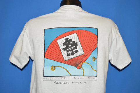 90s Nesei Week Japanese Festival 1991 t-shirt Large