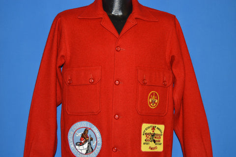 70s Boy Scouts Of America Official Jacket Size 40