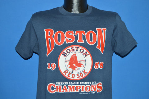80s Boston Red Sox 1988 AL East Champs t-shirt Small