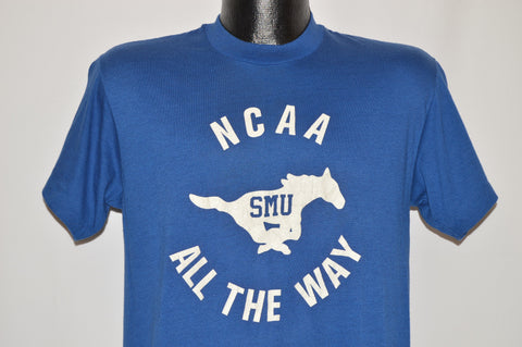 70s SMU Mustang NCAA All the Way t-shirt Medium