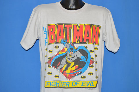 80s The Batman Fighter Of Evil t-shirt Large