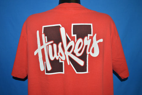 90s Nebraska Corn Huskers t-shirt Large