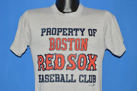 80s Property Of Boston Red Sox Baseball Club t-shirt Small