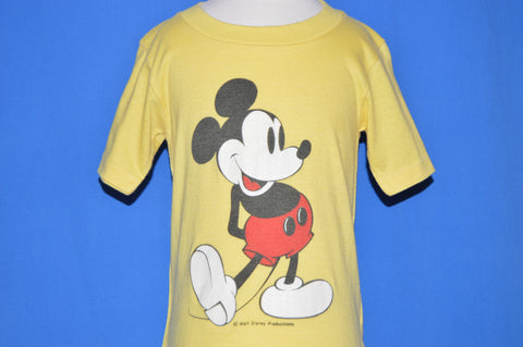 80s Mickey Mouse Classic Disney t-shirt Youth Small