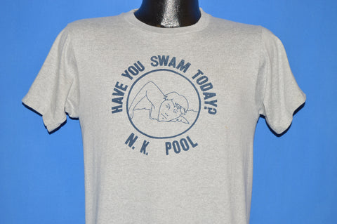80s Have You Swam Today N.K Pool t-shirt Small