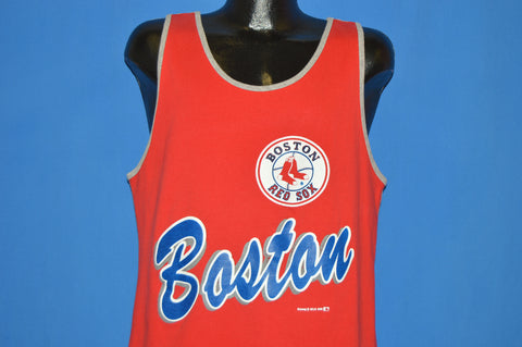80s Boston Red Sox Nutmeg Tank Top t-shirt Large