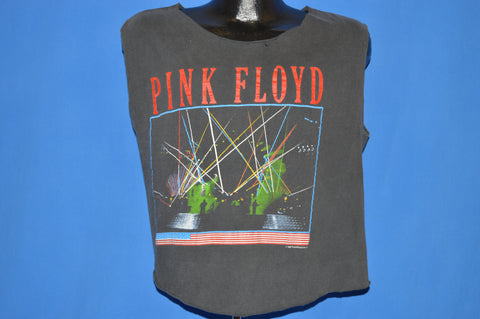 80s Pink Floyd Momentary Lapse Tour Tank Top t-shirt Large