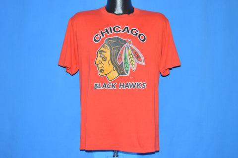 80s Chicago Blackhawks t-shirt Large