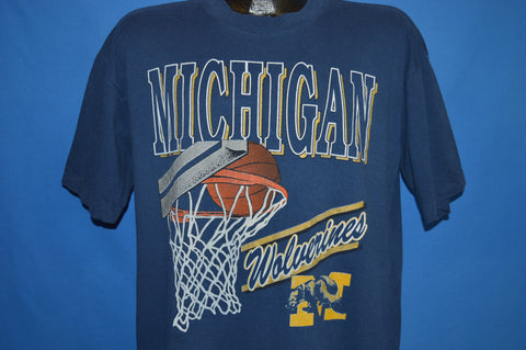 90s Michigan Wolverines t-shirt Extra Large