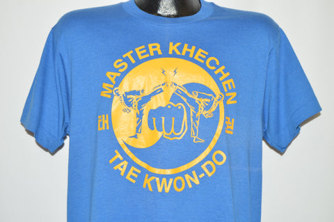80s Master Khechen Tae Kwon Do t-shirt Large