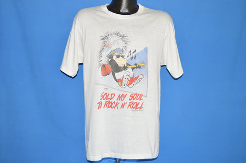 80s Opus Bloom County Sold My Soul t-shirt Large