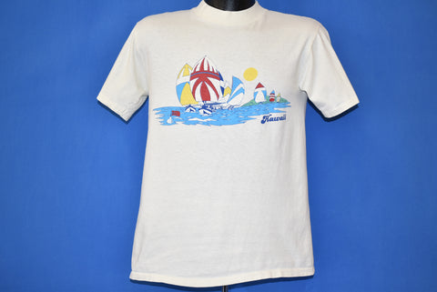 80s Hawaii Sail Boat Tourist t-shirt Medium
