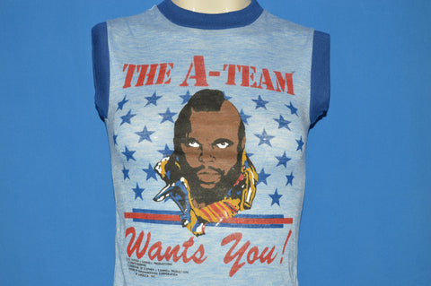 80s A-Team Wants You Mr. T t-shirt Youth Small