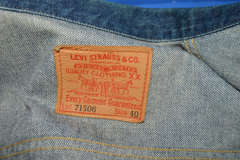 40s Levi's 506xx Type 1 Buckle Back Jacket sz 40