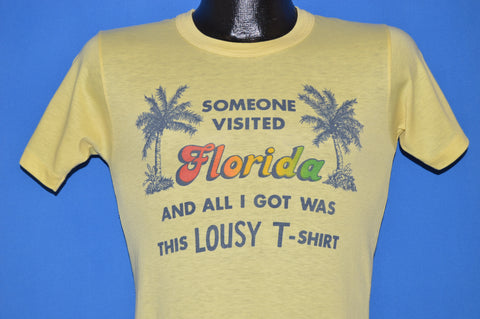70s Florida Tourist t-shirt Extra Small