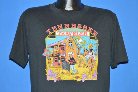 80s Tennessee Traveler Nashville Or Bust Redneck t-shirt Large