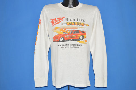 80s Miller High Life Warrior Drag Racing t-shirt Medium