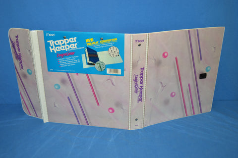 80s Abstract Marble Print Designer Series Trapper Keeper