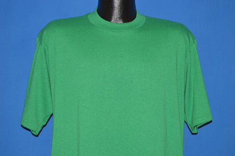 80s Green Blank JERZEES t-shirt Large