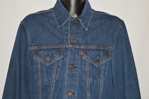 70s Levi's Type 3 Trucker Denim Jacket Size 40