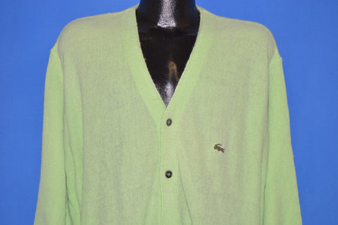 70s IZOD Lacoste Alligator Acrylic Golf Sweater Extra Large