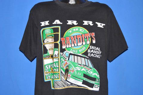 90s Harry Gant The Bandit's Last Ride Nascar t-shirt Extra Large