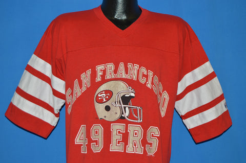 80s San Francisco 49ers Football Jersey t-shirt Extra Large