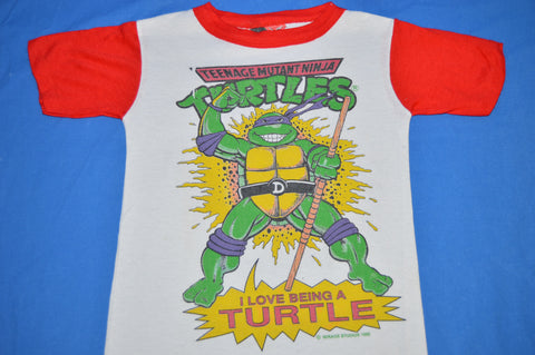 90s Teenage Mutant Ninja Turtles Donatello t-shirt Youth Size 8 Small