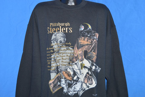 90s Pittsburgh Steelers Sweatshirt Extra Large
