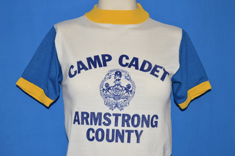 70s Camp Cadet Armstrong County PA t-shirt Extra Small