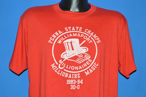 80s Williamsport Millionaires PIAA Champs t-shirt Extra Large