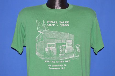 80s The Met Cafe Providence Rhode Island t-shirt Large