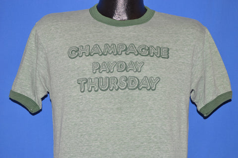 80s Champagne Payday Thursday KMET Rocks t-shirt Medium